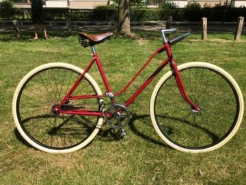 Rode pathracer vintage retro oldtimer singlespeed Norta