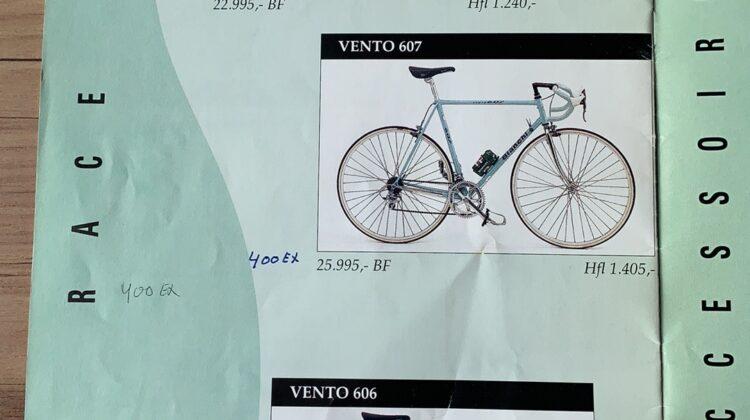Originele Bianchi Vento 602 uit 1994 in uitstekende staat