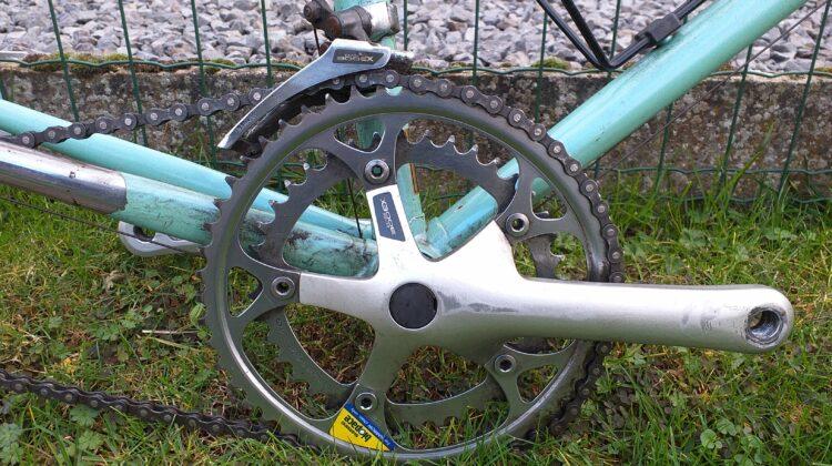 Retro Bianchi Vento 602 kader + 2 wielen