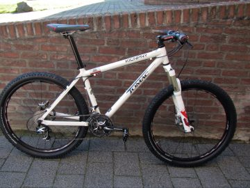 Mountainbike John Tomac Alu frame met shimano XTR vraagprijs Euro 995