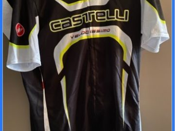 Wielrenshirts Castelli 100% Nieuw en Origineel Maat XL